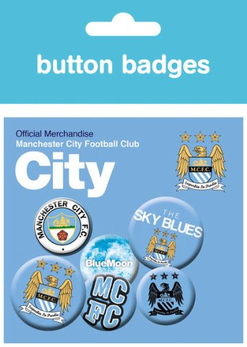 Manchester city official badge pack